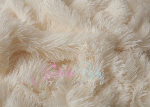 NEW! Cream Long Pile Fur